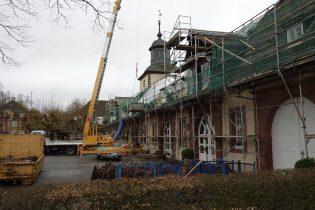 Sanierungsarbeiten Kloster Corvey