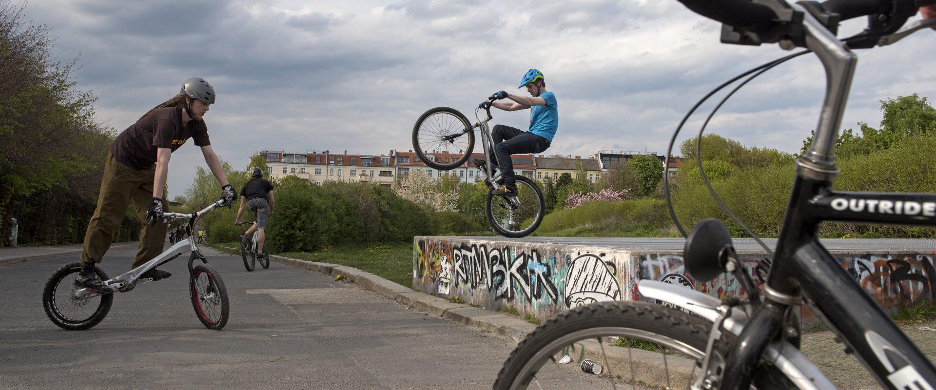 Berlin, Mauerpark. Foto: Erik-Jan Ouwerkerk