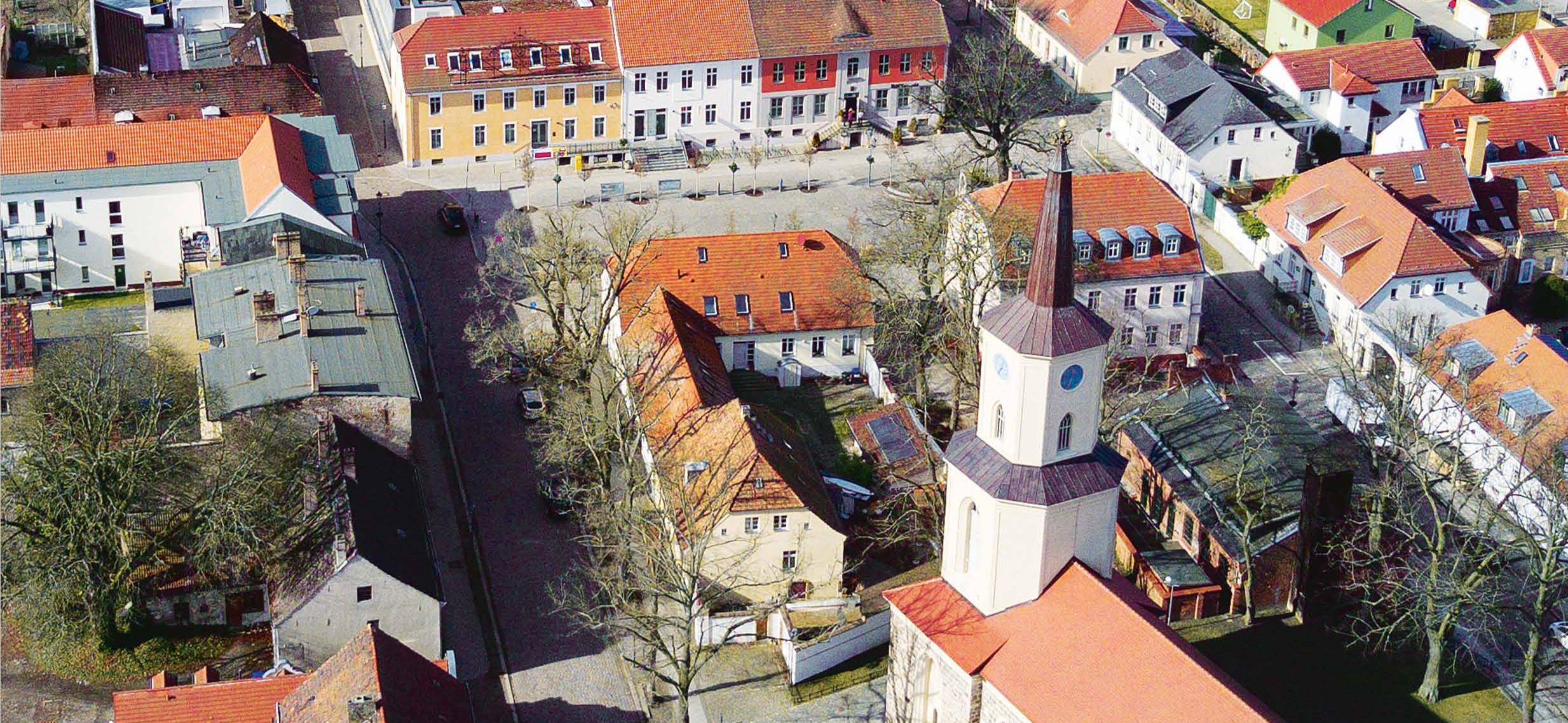 Luftbild Altstadt Teltow