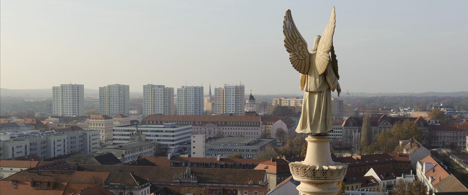 Potsdam, Blick vom Turm der Nikolaikirche. Foto Erik-Jan Ouwerkerk