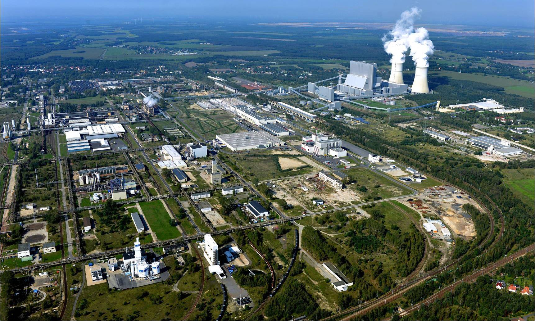Industriepark Schwarze Pumpe