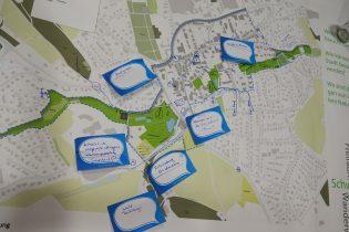 Themenplakat des City-Dialoges in Werther (Westf.)